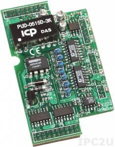 X202 7-канальный модуль аналогового ввода для I-7188XB/EX