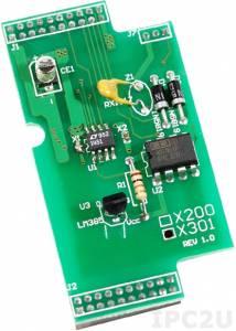 X301 Модуль 1-канального аналогового ввода и 1-канального аналогового вывода для I-7188XC