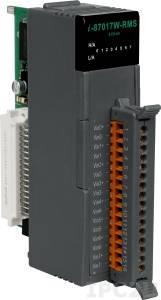 I-87017W-RMS Высокопрофильный модуль ввода, 8 каналов аналогового ввода True RMS, 16-бит, защита от высокого напряжения, последовательная шина