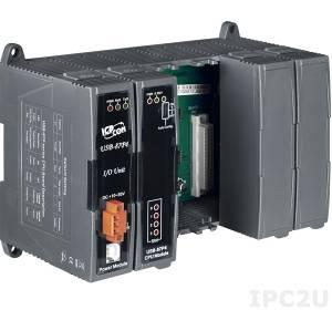 USB-87P4 Корзина расширения для модулей I-87K, 4 слота расширения, интерфейс USB , протокол DCON