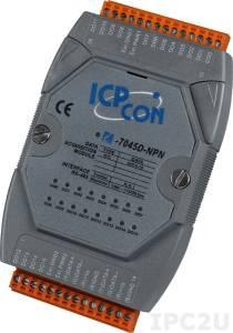 I-7045D-NPN Модуль вывода, 16 каналов дискретного вывода, c изоляцией до 3750 В и индикацией