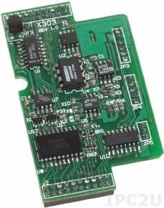 X303 Модуль 1 AI, 1 AO, 4 DI, 6 DO для I-7188XB/EX