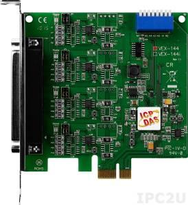 VEX-144 PCI Express адаптер 4xRS-422/485 115.2кбод