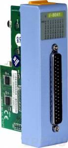 I-8041 Низкоопрофильный модуль вывода, 32 канала дискретного вывода, открытый коллектор, с изоляцией до 3750В, параллельная шина