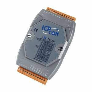 I-7015P Модуль ввода, 6 каналов ввода сигнала с термосопротивления: Pt100, Pt1000, Ni120, Ni100, Cu50, Cu100, CU1000, для дальних расстояний