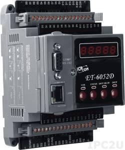 ET-6052D Mодуль дискретного ввода/вывода 14DI/8DO, Modbus, Ethernet 10/100