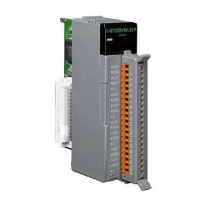 I-87028VW-20V Высокопрофильный модуль вывода, 8 каналов аналогового вывода, 12-бит, 0...+20В постоянного тока