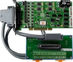 PIO-DA16U/S Адаптер Universal PCI 16 каналов ЦАП, 16DI, 16DO, разъем CA-4002x1, плата клеммников DN-37 с кабелем СА-3710
