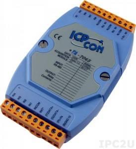 I-7063 Модуль ввода - вывода, 3 канала мощного релейного вывода / 8 каналов дискретного ввода, c изоляцией до 3750 В