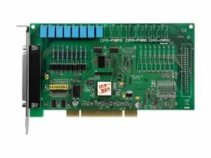 PCI-P8R8U Universal PCI адаптер 8DI, 8 реле с гальванической изоляцией, разъем CA-4002x1
