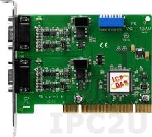 VXC-142AU Universal PCI адаптер 2xRS-422/485 115.2кбод