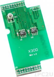 X300 2-канальный модуль аналогового вывода для I-7188XC