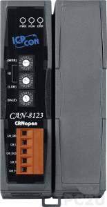 CAN-8123 Корзина расширения для модулей I-8K, I-87K, 1 слот расширения, интерфейс CAN, протокол CANopen
