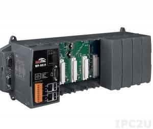 WP-8839-EN-1500 PC-совместимый промышленный контроллер PXA270 520МГц, 128Mб SDRAM,128Mб Flash, 2xRS-232, 1xRS-485, 1xRS-232/485, 2xEthernet, 8 слотов расширения, Win CE 5.0, Indusoft 1500 тегов