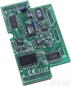 X305 Модуль 7 AI, 1 AO, 2 DI, 2 DO для I-7188XB/EX
