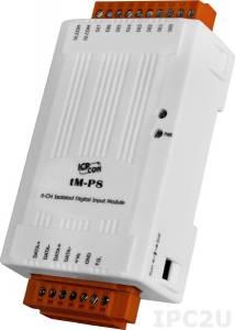 tM-P8 Модуль ввода, 8 каналов дискретного ввода, Modbus RTU/ASCII, DCON