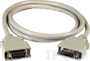 CA-SCSI20-M1 Соединительный кабель SCSI II 20-pin в 20-pin Male, 1 M, Для двигателя Mitsubishi, ПВХ, 15В