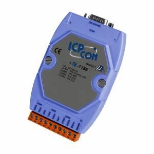I-7188/DOS/512 PC-совместимый промышленный контроллер 40МГц, 512кб Flash, 256кб SRAM, 2xRS232, 1xRS485, 1xRS232/485, ROM DOS, кабель CA-0910x1