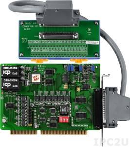 ISO-AD32H/S Адаптер ISA, 32SE/16D каналов АЦП с изоляцией, плата клеммников DN-37 с кабелем CA-3710