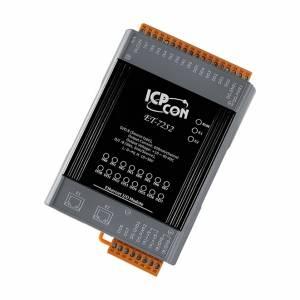 ET-7252 Модуль ввода - вывода, 8 каналов дискретного ввода, мокрый контакт / 8 каналов дискретного вывода, 2xEthernet