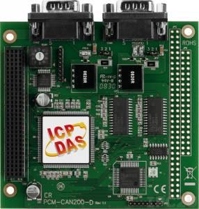PCM-CAN200-D PCI-104 2-портовый адаптер интерфейса CAN