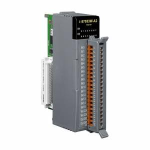 I-87053W-A2 Высокопрофильный модуль дискретного 16-канального ввода с изоляцией, 16-битные счетчики