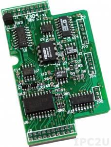 X304 Модуль 3 AI, 1 AO, 4 DI, 4 DO для I-7188XB/EX