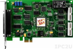 PEX-1002L Многофункциональный адаптер PCI Express, 32SE/16D каналов АЦП, 16DI, 16DO, таймер, разъем СА-4002x1
