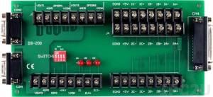 DB-200 Выносная плата клеммников для Servo-300, разъемы 25-pin D-Sub +2x 9-pin D-Sub, 10В