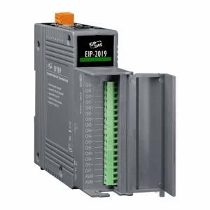 EIP-2019/S Модуль ввода-вывода, 8 каналов аналогового ввода сигнала с термопар, EtherNet/IP, плата CN-1824 (RoHS)