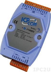 I-7188E5-485 Программируемый Преобразователь последовательных интерфейсов, 1xRS-232, 4xRS-485
