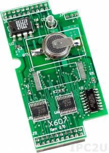 X607 Модуль SRAM-памяти 128 кб с питанием от батареи для I-7188XA/XB/XC/EX