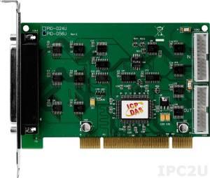 PIO-D56U Universal PCI адаптер дискретного ввода-вывода (16DI, 16DO, 24DI0 TTL )