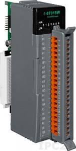 I-87015W Высокопрофильный 7-канальный модуль ввода сигнала с термоcопротивлений