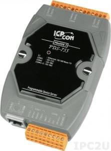 PDS-755 Программируемый Преобразователь последовательных интерфейсов, 1xRS-232, 4xRS-485