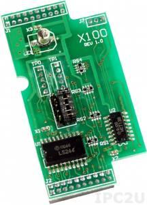 X100 Плата расширения для контроллеров серии I-7188XC(D), 8 каналов дискретного ввода