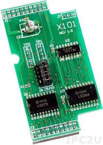 X101 Плата расширения для контроллеров серии I-7188XC(D), 8 каналов дискретного вывода