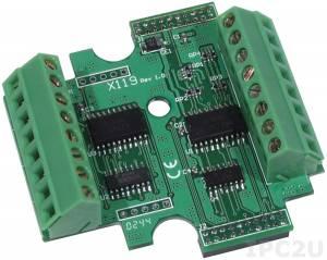 X119 Модуль дискретного 7-канального ввода и 7-канального вывода для I-7188XA/XB/XC/EX