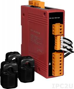 PM-3133-240-MTCP 3-фазный компактный измеритель напряжения и тока, кабель 24мм (0-200A), до 500 В, 50/60Гц, Modbus TCP
