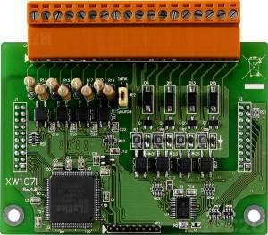 XW107i Модуль 8xDI, 8xDO с изоляцией, для серии LP-51xx, WP-51xx, uP-5000, RoHS