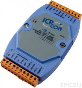 I-7080 Модуль ввода - вывода, 2 канала счетчика/частотомера / 2 канала дискретного вывода