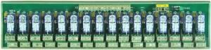 RM-216 Выносная плата 16 силовых реле для монтажа на DIN-рейку(250Vac@8A)