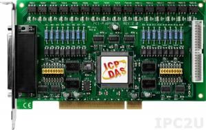 PCI-P16POR16 PCI адаптер 16DI, 16DO с гальванической изоляцией, переходник CA-4037x1, разъем CA-4002x2