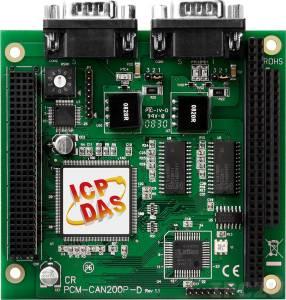 PCM-CAN200P-D PC-104+ 2-портовый адаптер интерфейса CAN