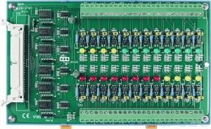DB-24P/DIN Выносная плата 24 дискретных входов AC/DC с изоляцией, совместима с Opto-22, монтаж на DIN-рейку