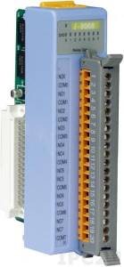 I-8068 Низкопрофильный модуль вывода, 8 каналов мощного релейного вывода, с изоляцией до 1500В, параллельная шина