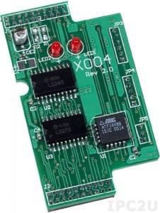 X004 Модуль тестирования для I-7188XB/EX, 64 x 38 мм