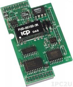 X308 Модуль 4 AI, 6 DO для I-7188XB/EX/XG/EG