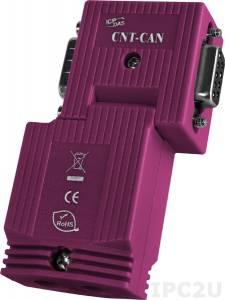 CNT-CAN Коннектор с клеммной колодкой для CAN модуля, до 12 В, 48x18x75 мм, пластик