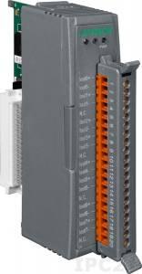 I-87028CW Высокопрофильный модуль вывода, 8 каналов аналогового вывода, 12-бит, с определением обрыва линии, последовательная шина